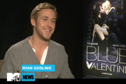 ryan gosling mtv