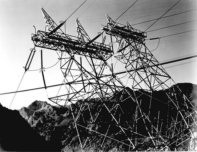 Transmission line Boulder Dam