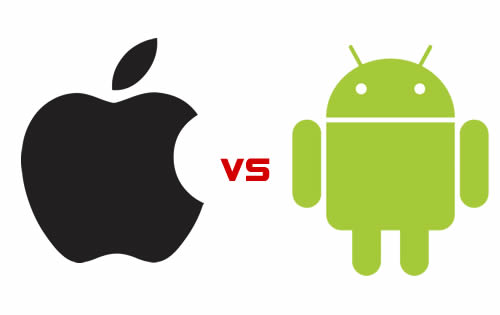 Apple vs Google's Android