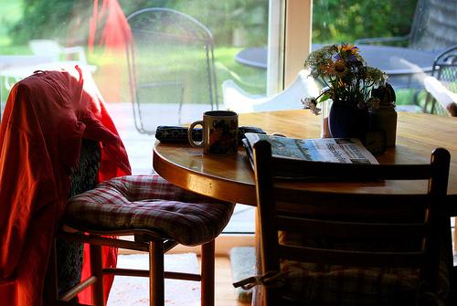Kitchen Table Flickr