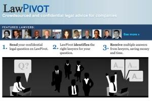 LawPivot Splash Page