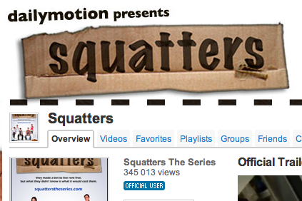 dailymotion squatters
