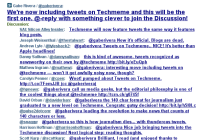 Tweets-on-techmeme