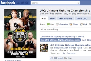 UFC Facebook