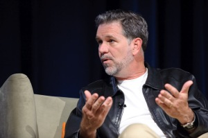 Reed Hastings of Netflix at NewTeeVee Live 2010 in San Francisco
