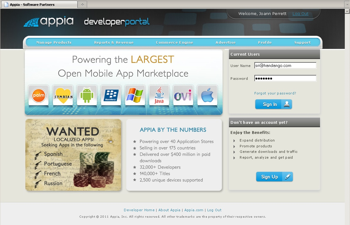 Appia Dev Portal Screenshot,jpg