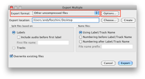 Audacity_export_multiple