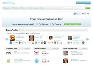 Find Social Media Tools for Business - oneforty