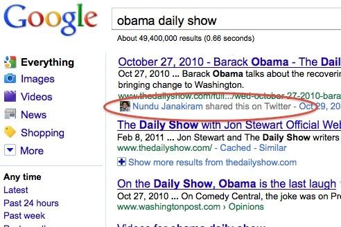 google social search11