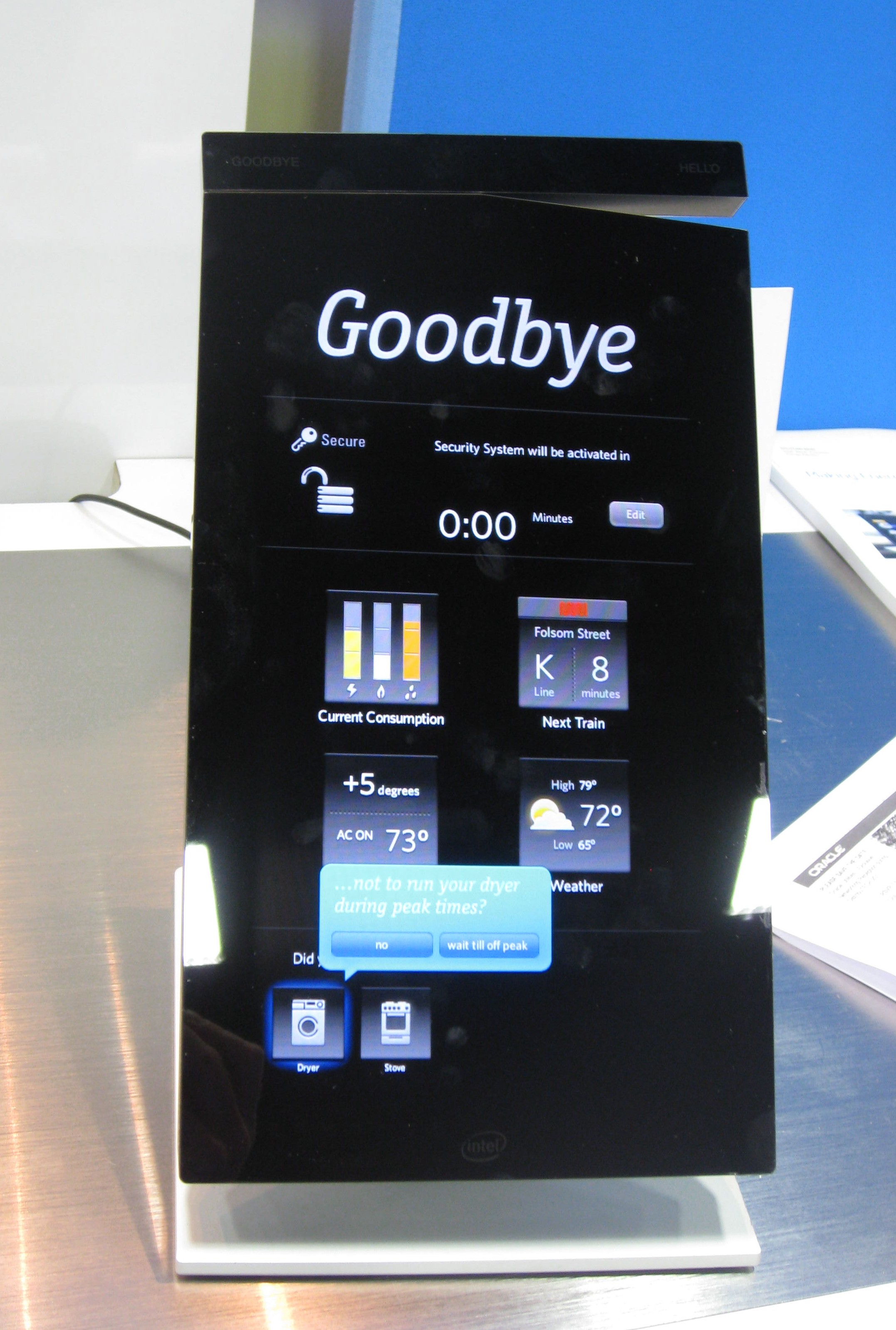 Intel Home Energy Monitor : Intel home energy