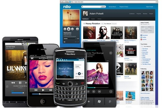 rdio options