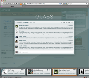 Sneak peak of what's coming for Glass