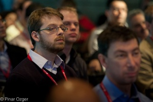 The audience at Structure Big Data 2011