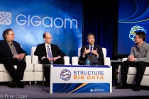 Minder Cheng, Investment Technology Group, Thomas Chippas, Barclays Capital, and Barry Zane, ParAccel at Structure Big Data 2011