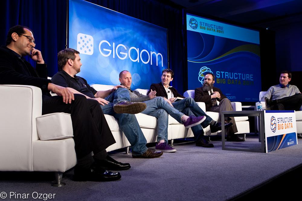 Knome, Metamarkets, ITA Software, OmniTI, Karmasphere at Structure Big Data 2011