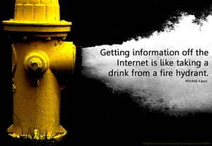 Information Overload Fire Hydrant