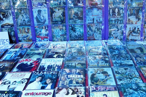 pirated dvds