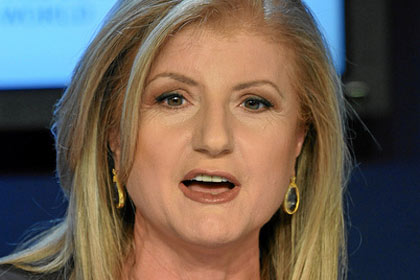 Arianna Huffington by World Economic Forum