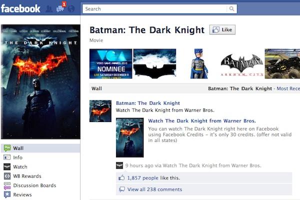 batman facebook