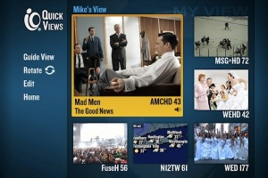 cablevision quick views