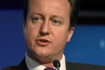 David Cameron by World Economic Forum