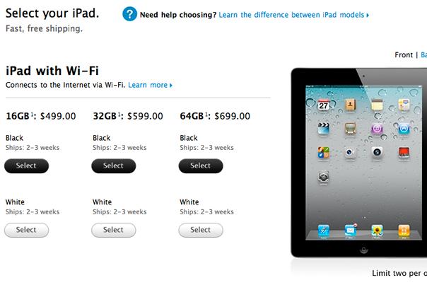 ipad2-online-sales