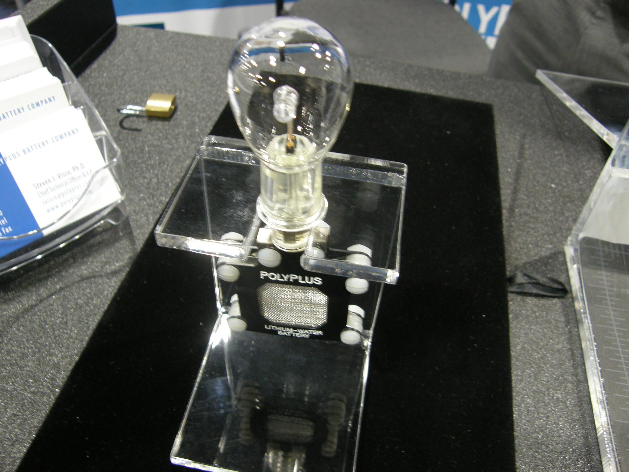 PolyPlus Water Battery