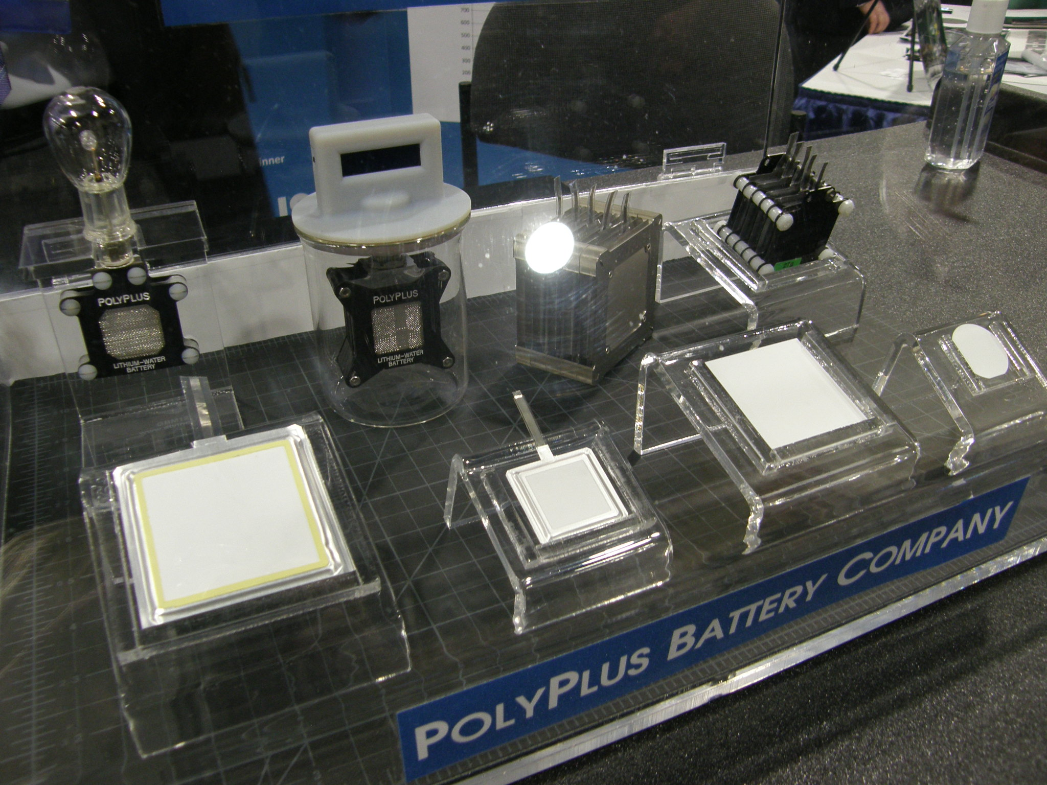 PolyPlus Batteries, image from 2011