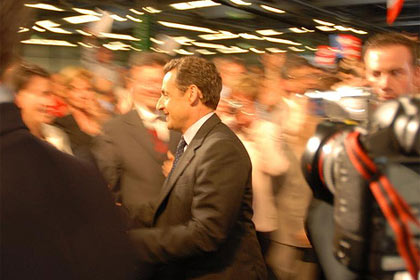 Sarkozy by guillaume Paumier