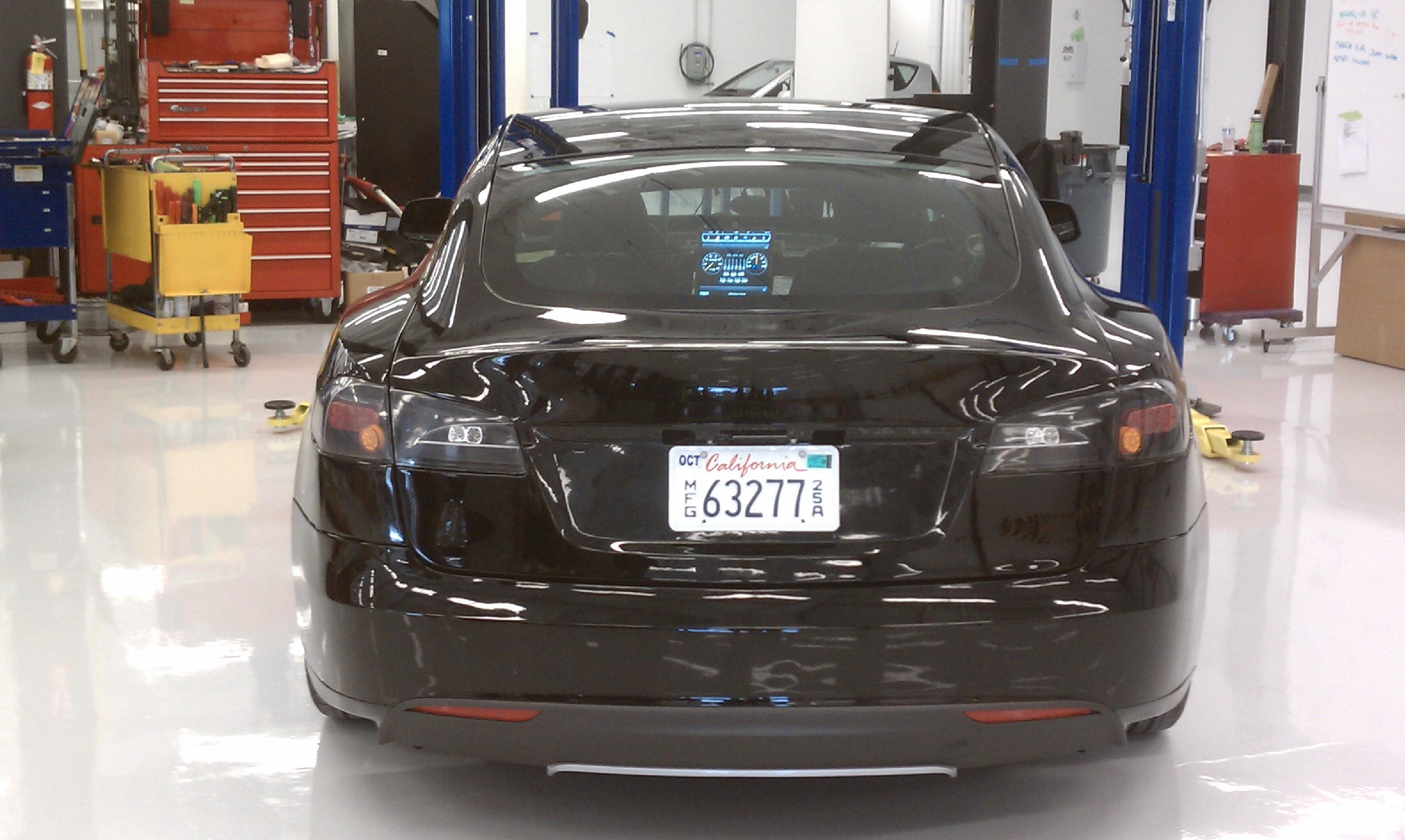 Tesla Model A Alpha Electronics Version