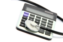 calculator stethoscope