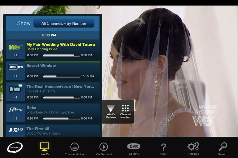 cablevision ipad