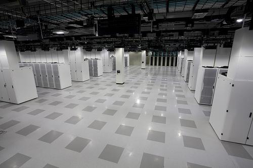 Cisco's gree Data Center Hall