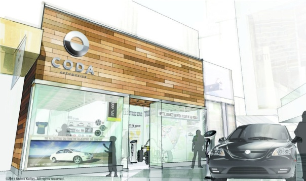 Coda Experience Center store front