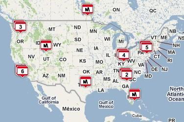 cordcutters meetups map