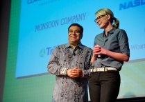Om Malik and Katie Fehrenbacher at Green:Net 2011