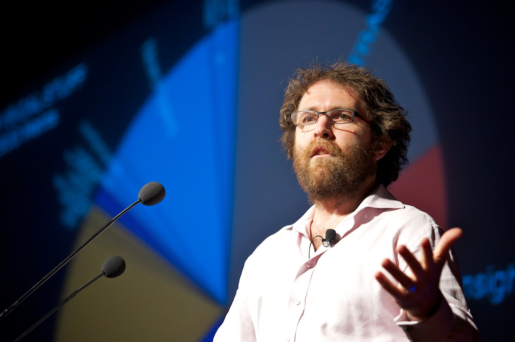Saul Griffith, Principal, Overlab at Green:Net 2011