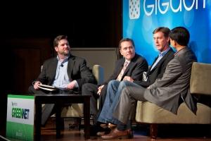 Smart Grid Panel: Scott Henneberry (Schneider Electric), Larsh Johnson (eMeter) and Andrew J Tang (ABB Technology Ventures) join Clint Wheelock (Pike Research) at Green:Net 2011