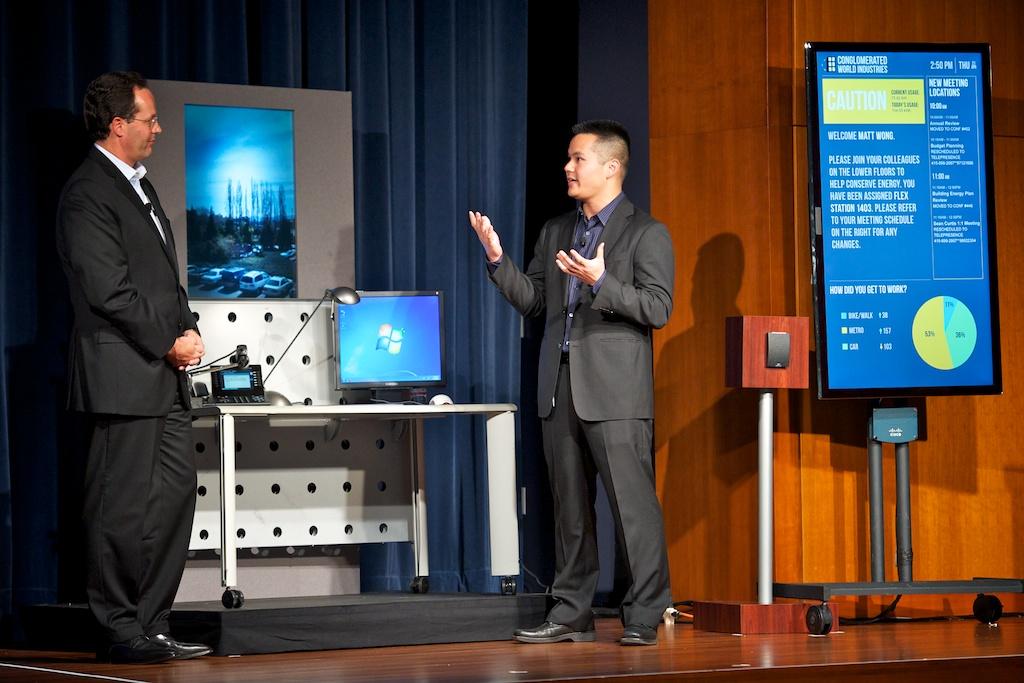 Marthin De Beer, Cisco, at Green:Net 2011
