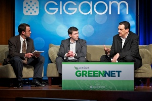 Cell Phone and EV Panel: Edward Pleet, Ford Motor Company, and Nick Pudar, OnStar, at Green:Net 2011