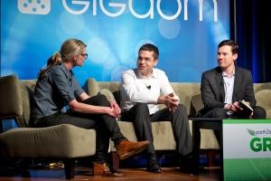 EV Panel: Jerome Guillen, Tesla Motors, and Chris Paulson, CODA Automotive, at Green:Net 2011