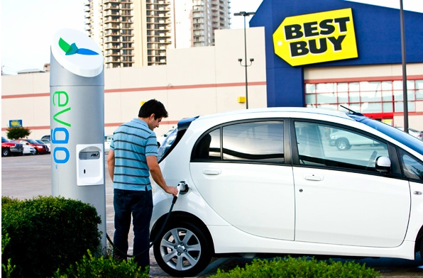NRG Energy's eVgo Network at a Best Buy