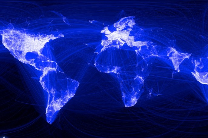Facebook's global social network