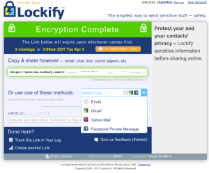 Lockify-encryption