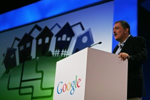 Milo Medin at the Google Fiber announcement.