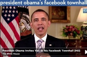 obama facebook townhall