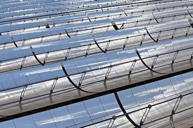 Solarthermische Parabolrinnenkraftwerke Andasol 1 und 2