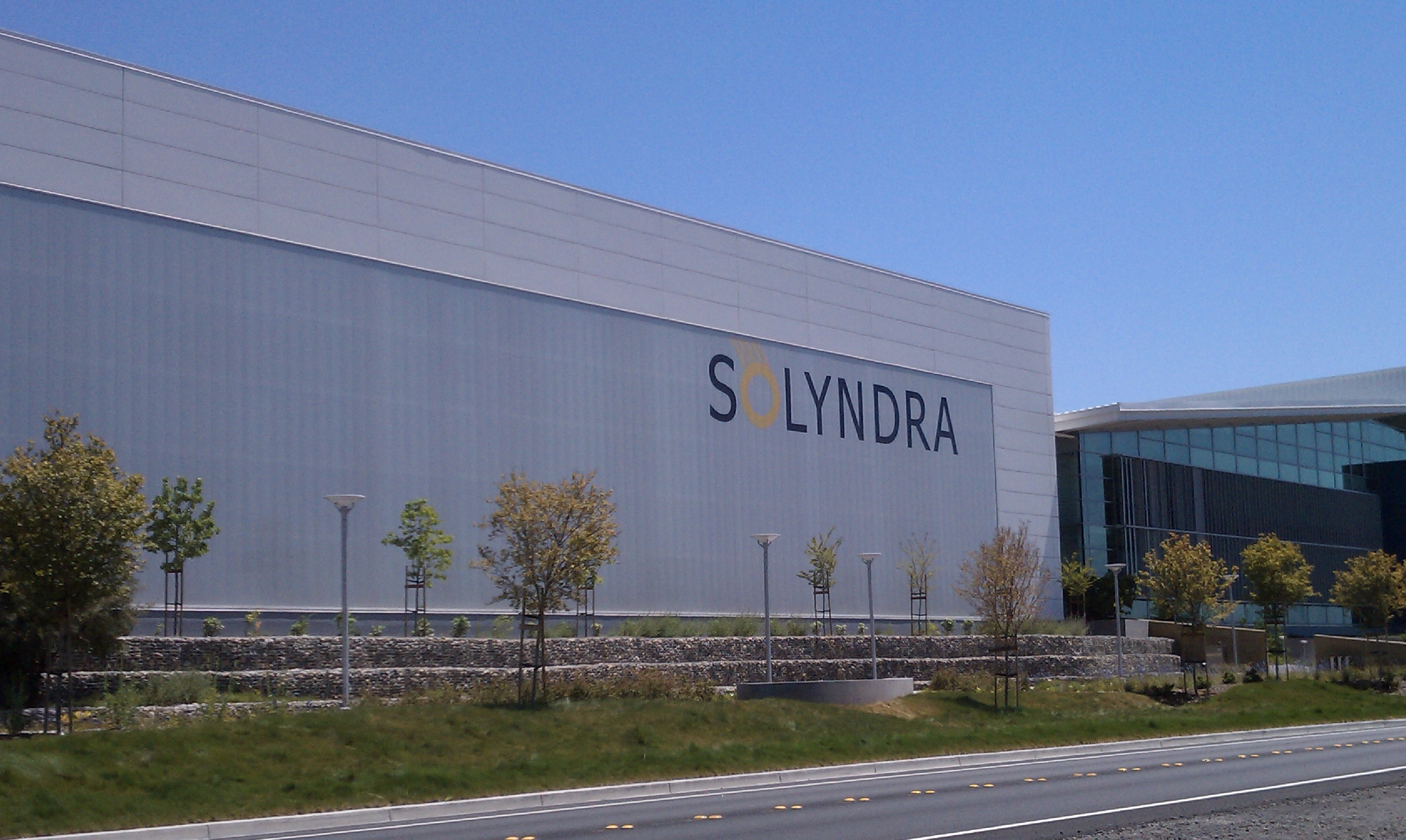Solyndra's Factory in Fremont, Calif