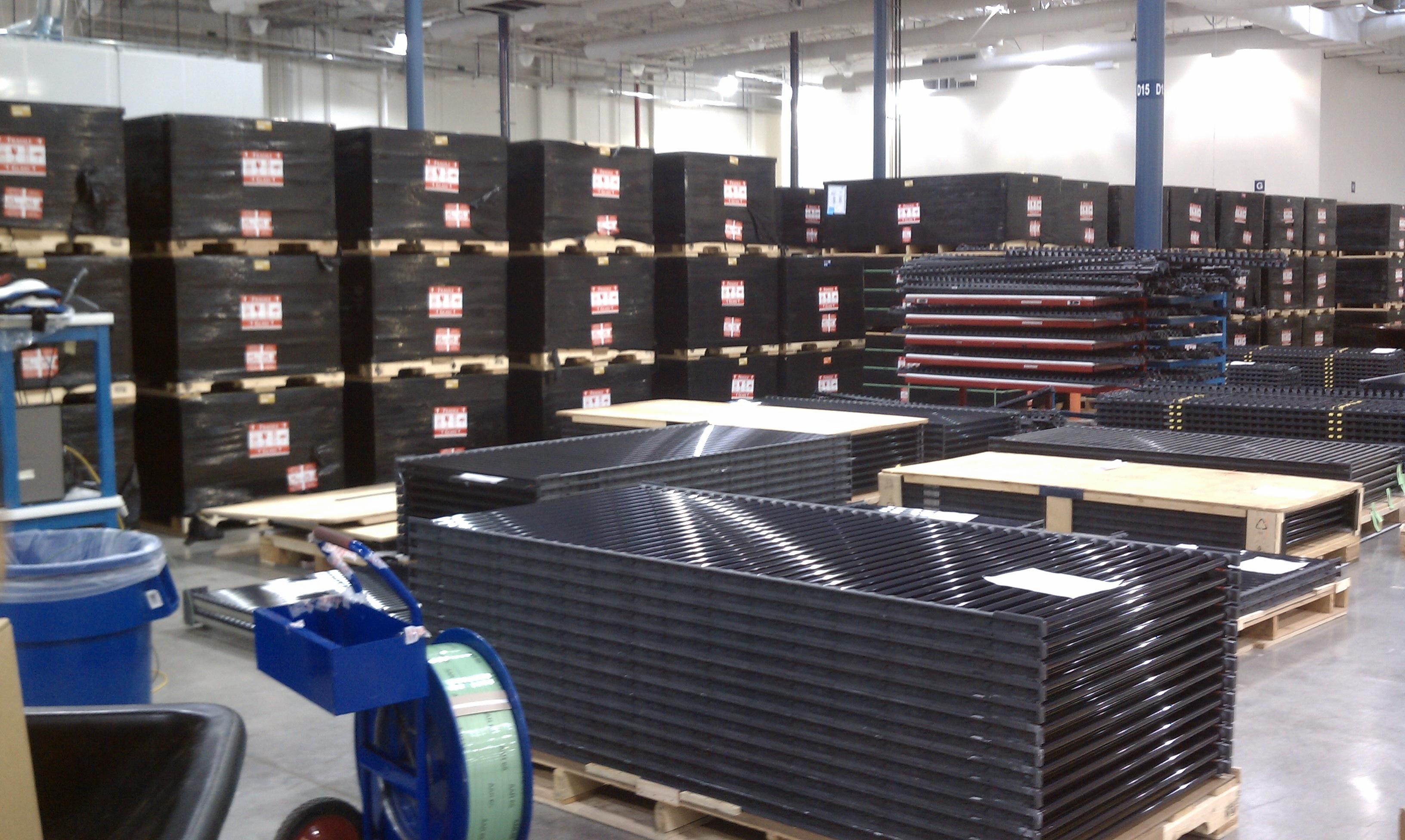 Solyndra Solar Panels Ready To Ship