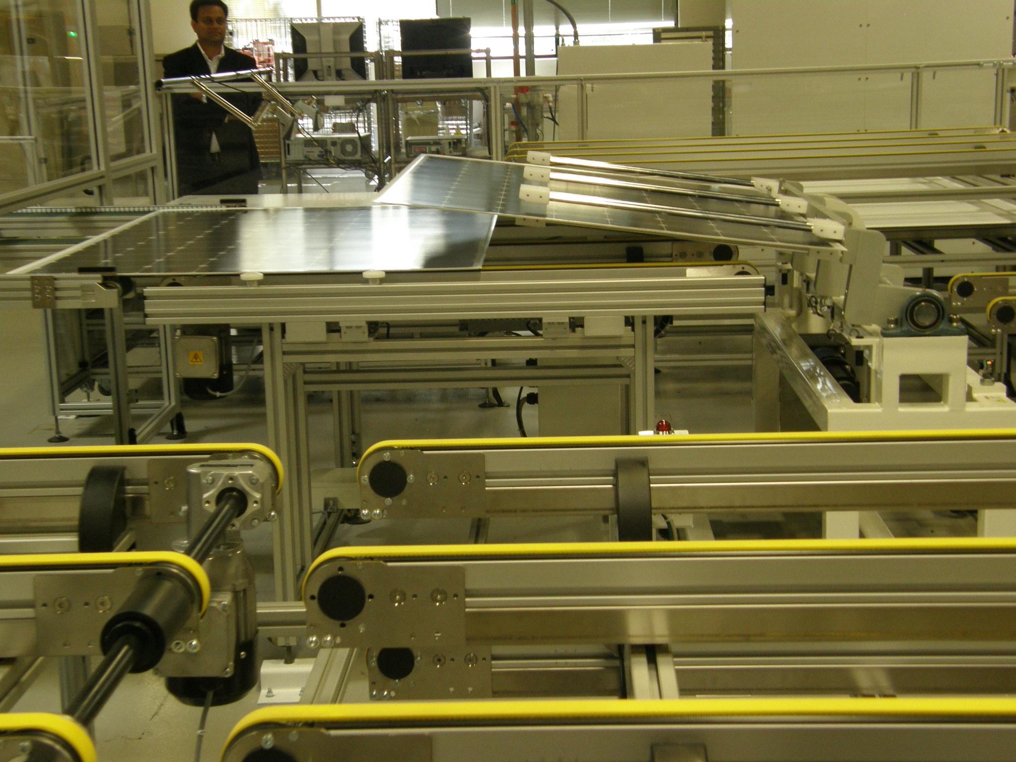 SunPower & Flextronics factory in Milpitas, CA
